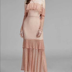 Keepsake the Label Wide Awake Gown in Blush Size S
